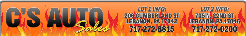 C's Auto Sales - Lebanon, PA