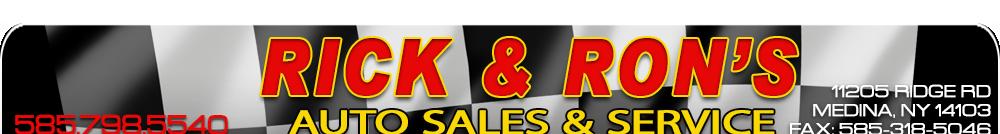 Rick & Rons Auto Sales & Service - Medina, NY