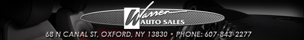 Warren Auto Sales - Oxford, NY