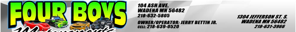 Four Boys Motorsports - Wadena, MN