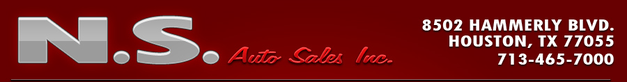 N.S. Auto Sales Inc. - Houston, TX