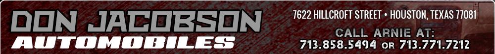 Don Jacobson Automobiles - Houston, TX
