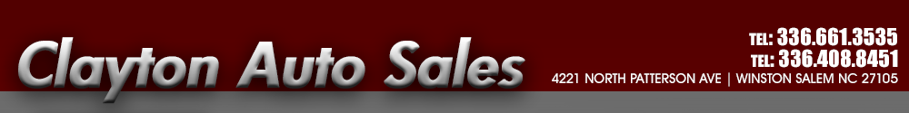 Clayton Auto Sales - Winston Salem, NC