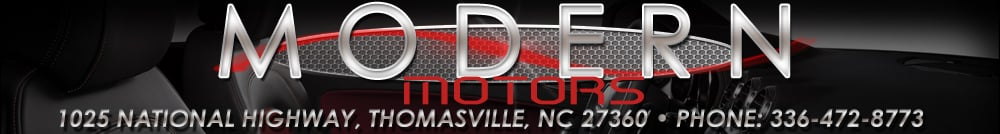 Modern Motors - Thomasville INC - Thomasville, NC