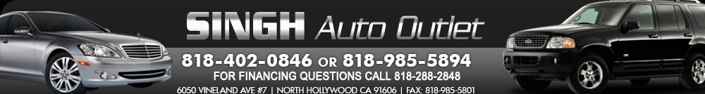 Singh Auto Outlet - NORTH HOLLYWOOD, CA