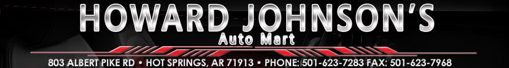 Howard Johnson's  Auto Mart, Inc. - Hot Springs, AR