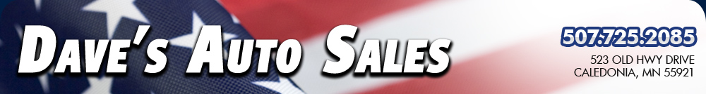 Daves Auto Sales >> Daves Auto Sales Used Cars Caledonia Mn Dealer