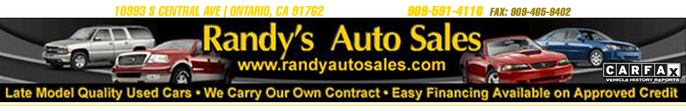 Randy's Auto Sales - Ontario, CA
