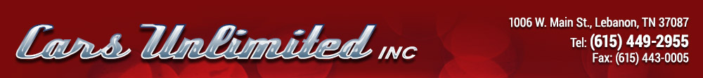 Cars Unlimited Inc - Lebanon, TN
