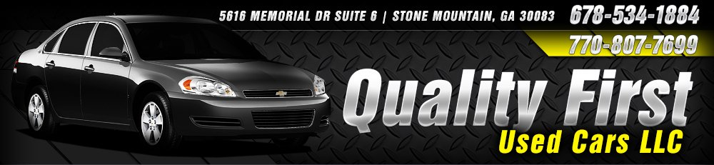 Quality First Used Cars LLC - Decatur, GA