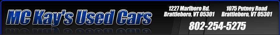 McKays Used Cars - Brattleboro, VT