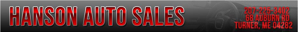 Hanson Auto Sales - Turner, ME