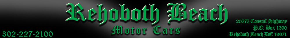 Rehoboth Beach Motor Cars - Rehoboth Beach, DE