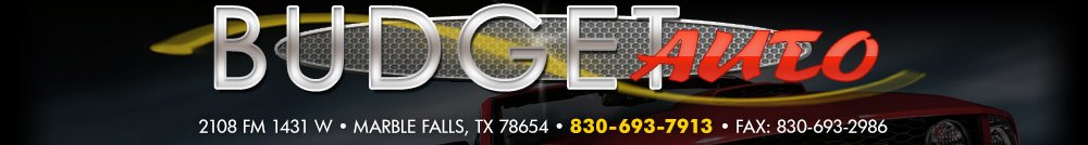 Budget Auto - Marble Falls, TX