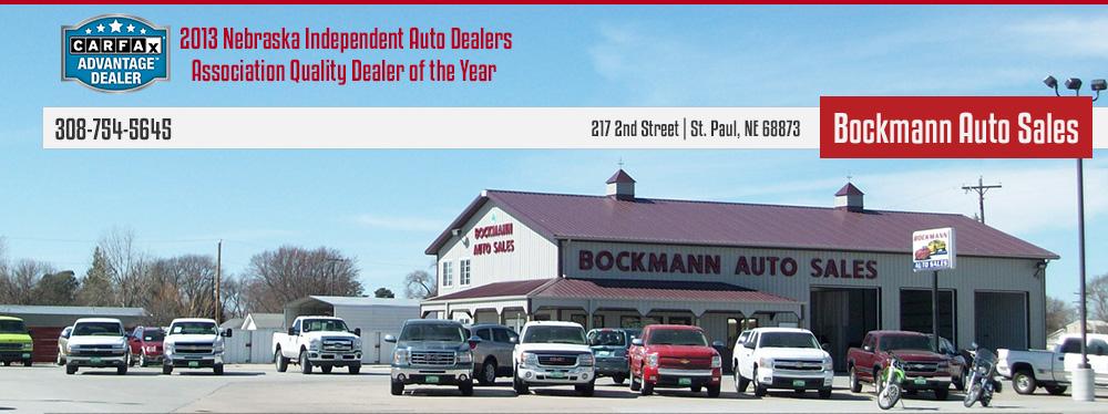 Bockmann Auto Sales - St. Paul, NE