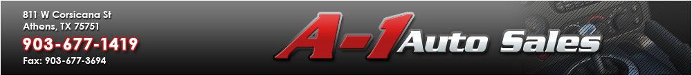 A-1 Auto Sales - Athens, TX
