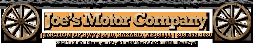 Joe's Motor Company - Hazard, NE
