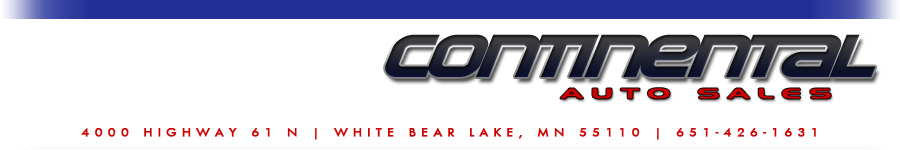 Continental Auto Sales - White Bear Lake, MN