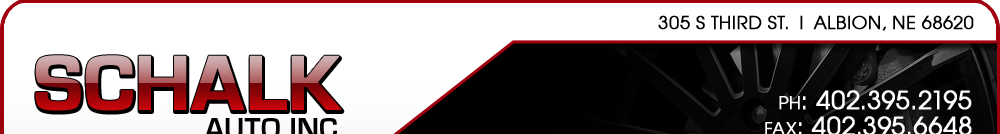 Schalk Auto Inc - Albion, NE