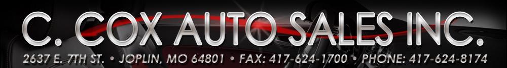 C. Cox Auto Sales Inc - Joplin, MO