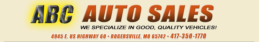 ABC Auto Sales - Rogersville, MO