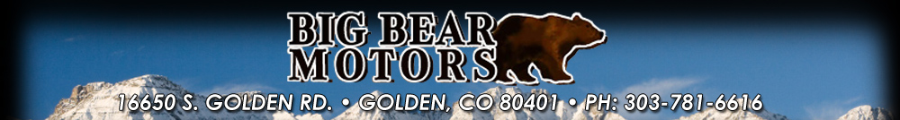 Big Bear Motors - Golden, CO