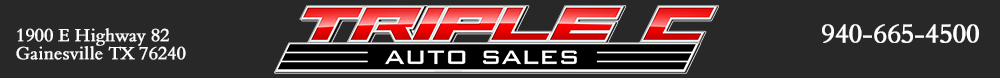 Triple C Auto Sales - Gainesville, TX