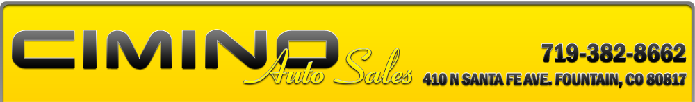 Cimino Auto Sales - Fountain, CO