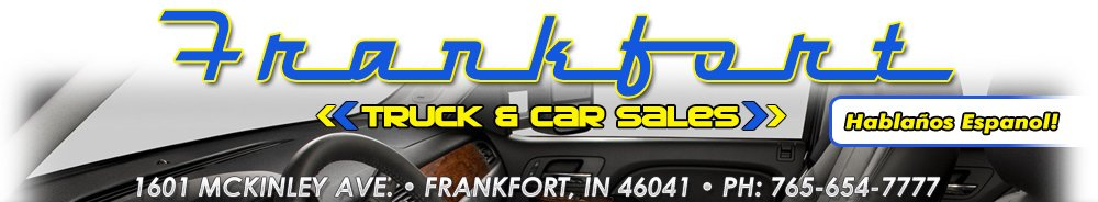 Frankfort Truck & Car Sales - Frankfort, IN
