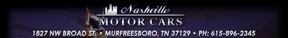 Nashville Motor Cars Premier - Murfreesboro, TN