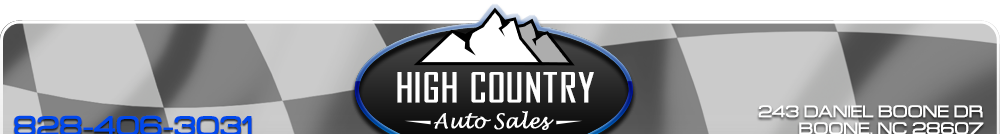 High Country Auto Sales - Boone, NC