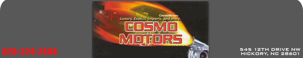 Cosmo Motors - Hickory, NC
