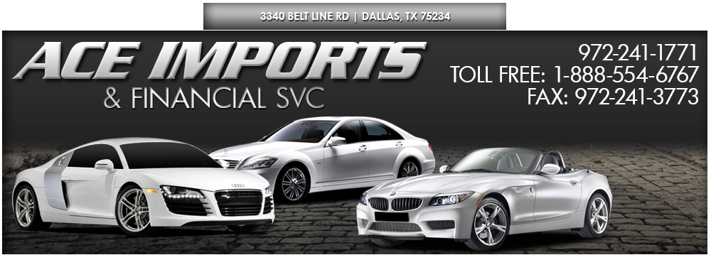 Ace Imports Financial Services Used Cars Dallas Tx Dealer