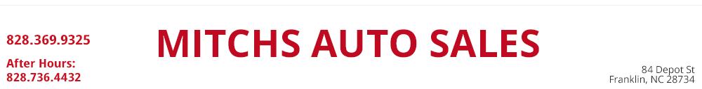 Mitchs Auto Sales - Franklin, NC