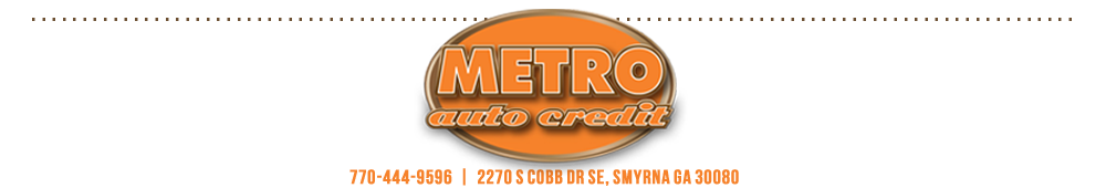 Metro Auto Credit - Smyrna, GA