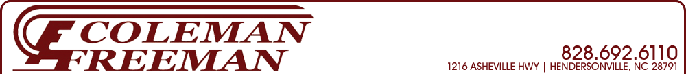 Coleman Freeman Auto Sales - Hendersonville, NC