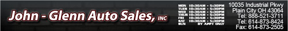 John - Glenn Auto Sales, INC - Plain City, OH