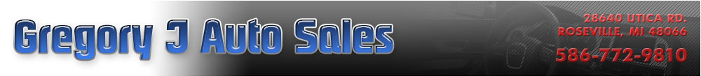 Gregory J Auto Sales - Roseville, MI