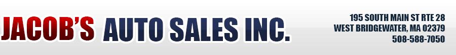 Jacob's Auto Sales Inc - WEST BRIDGEWATER, MA