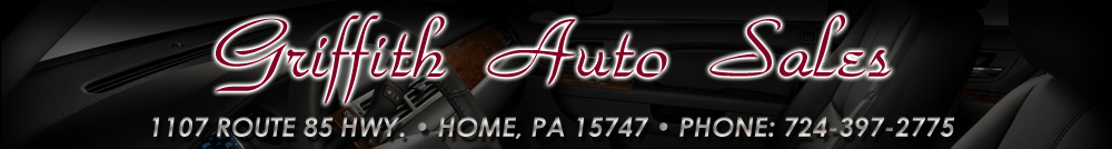 Griffith Auto Sales - Home, PA