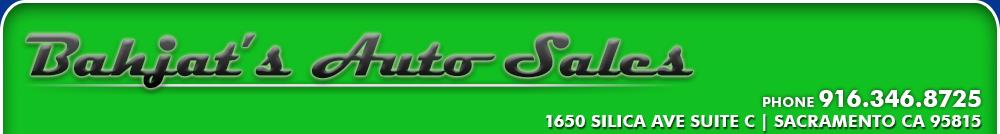 Bahjats Auto Sales - Rancho Cordova, CA