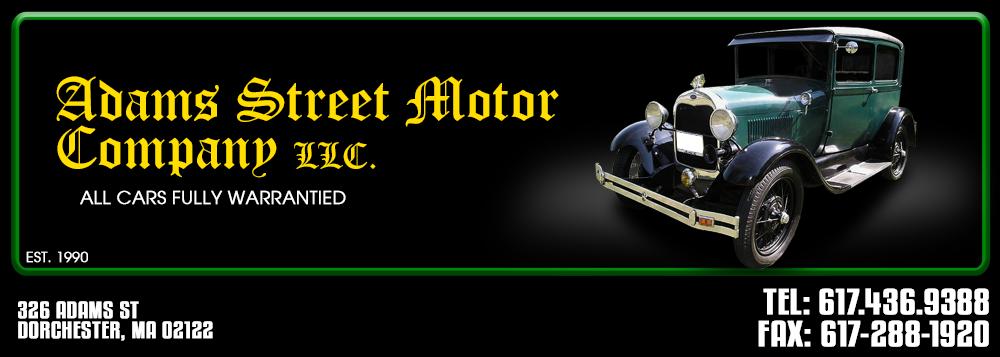 Adams Street Motor Company LLC - Dorchester, MA