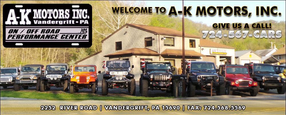 A - K Motors Inc. - Vandergrift, PA