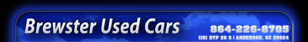 Brewster Used Cars - Anderson, SC