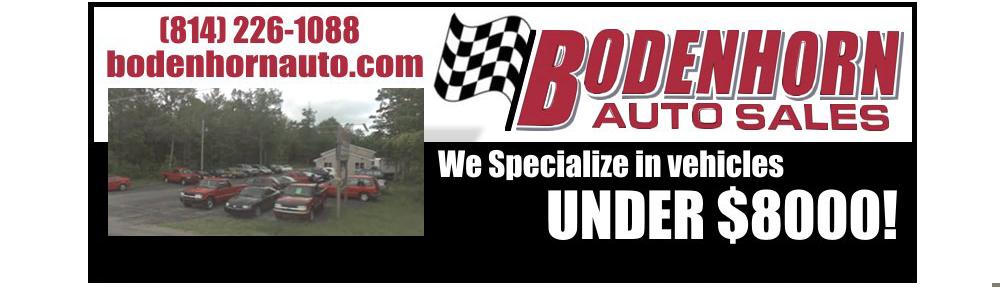 Bodenhorn Auto Sales - Shippenville, PA