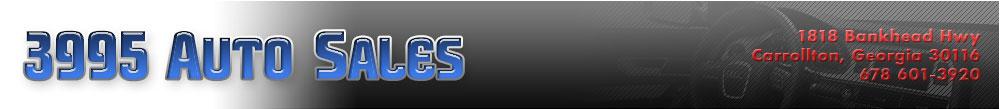 3995 Auto Sales - Carrollton, GA