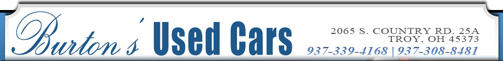 Burton's Used Cars - Troy, OH