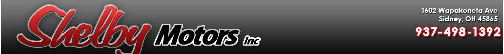 Shelby Motors INC - Sidney, OH