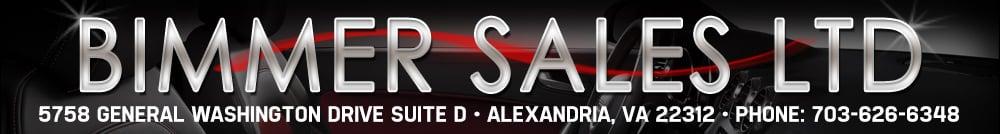 Bimmer Sales LTD - ALEXANDRIA, VA