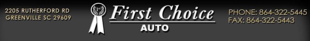 First Choice Auto - Greenville, SC